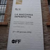 LA MACCHINA IMPERFETTA | ArteFiera OFF Bologna 2012